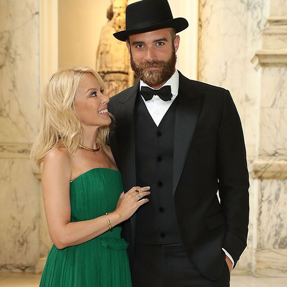 Kylie Minogue and her Fiance Joshua Sasse Reveal The Reason of their Delayed Wedding