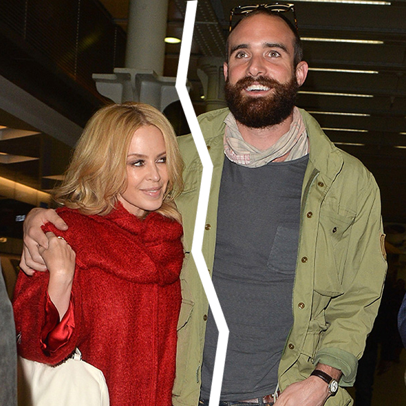 Shattered Hearts! Kylie Minogue Split with her Fiance Joshua Sasse after a Year of Getting Engaged