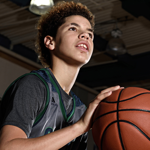 A Rising Basketball Player LaMelo Ball Set Scores Bar Pretty High Taking Stats Line Up To Another Level