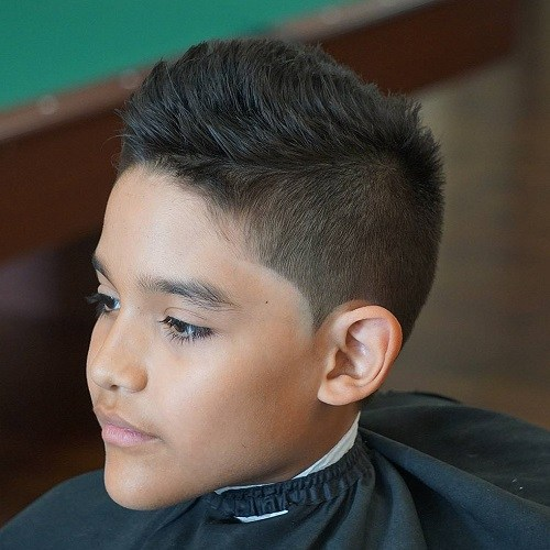 Short And Jagged Pompadour Hair Design Inspired By Christiano Ronaldo