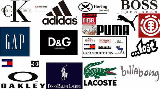10 Best Logo Changes Of 2017 Business Insider Most Por Clothing Brands