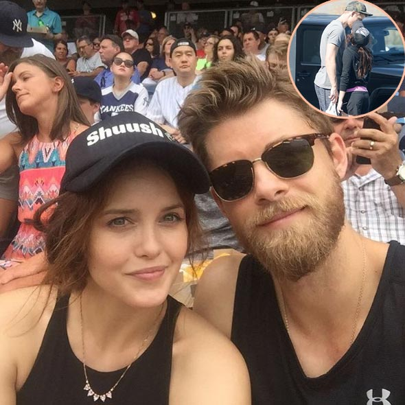 Luke Mitchell Wedding in 2013: Girlfriend of Four Years Turned Wife