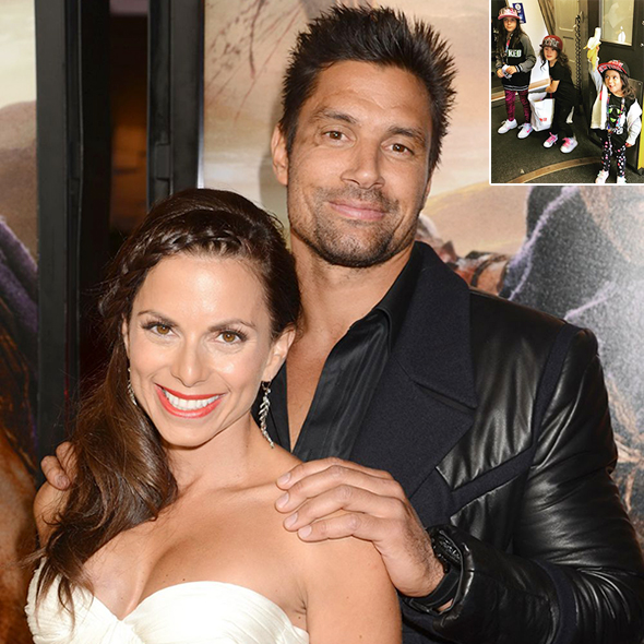 Never Reported As A Married Man; Manu Bennett Stands Up For The Mother Of His Kids! Obscuring His Wife?