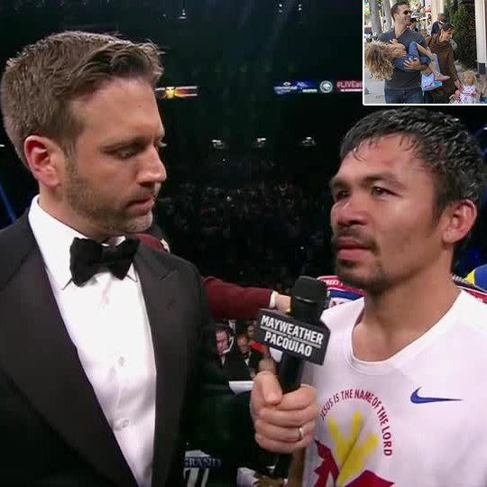 Commentator Max Kellerman's Interview With Manny Pacquiao