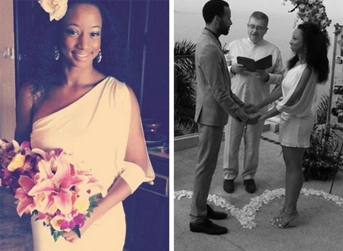 Monique coleman wedding