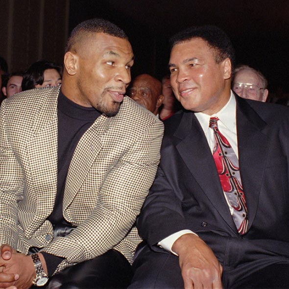 Shared Intimate Relation of Two Legends: Muhammad Ali and Mike Tyson