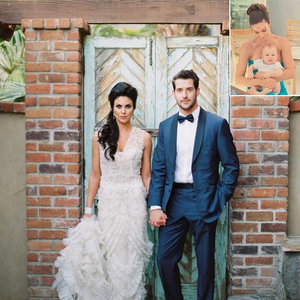 Beautiful Actress Nadia Bjorlin's Blissful Married Life With Her Husband And New-Born Baby!