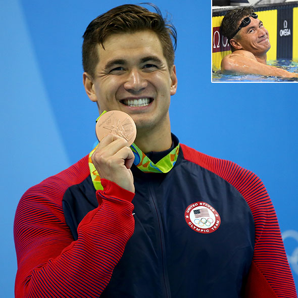 Awesome Swimmer Nathan Adrian: Is He Dating Someone? Or Is He Gay?