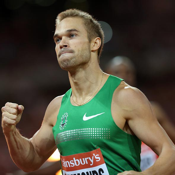 'Brad Pitt' of Track, Nick Symmonds Dating Rumors With Paris Hilton: Dedicated Medal to Gay Community