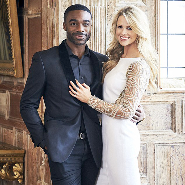 """""""I knew she was The One straight away"""" Ore Oduba Celebrated His First Wedding Anniversary With Wife"""