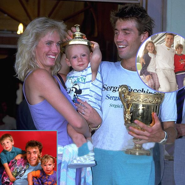 Pat Cash, Father of 4 Children, Dating With Actress Girlfriend? Previous Wife and Divorce History
