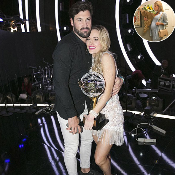 Baby On The Way! Peta Murgatroyd is Pregnant With Her Partner Maksim! So When Do They Plan To Getting Married?