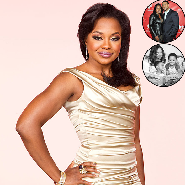 Television Personality Phaedra Parks Planning Divorce With Her Husband? Takes Kids To See Their Father!