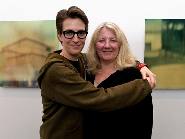 Romantically linked boyfriend and girlfriend: Rachel Maddow and Susan Mikula