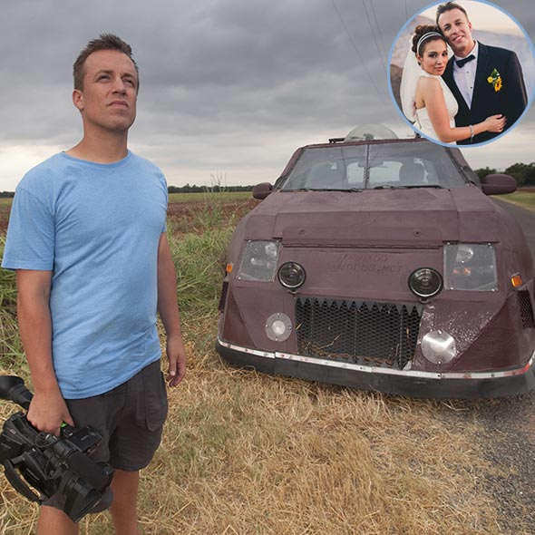 Storm Chaser Reed Timmer: Risky Job With Near Death Experiences: Married With Metereologist Wife