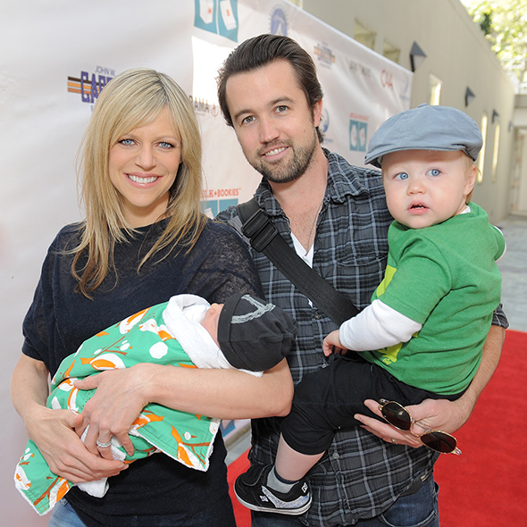Kaitlin Olson And Rob Mcelhenney Wedding.Awesome Actor Rob Mcelhenney Married In 2008 Wife And Children