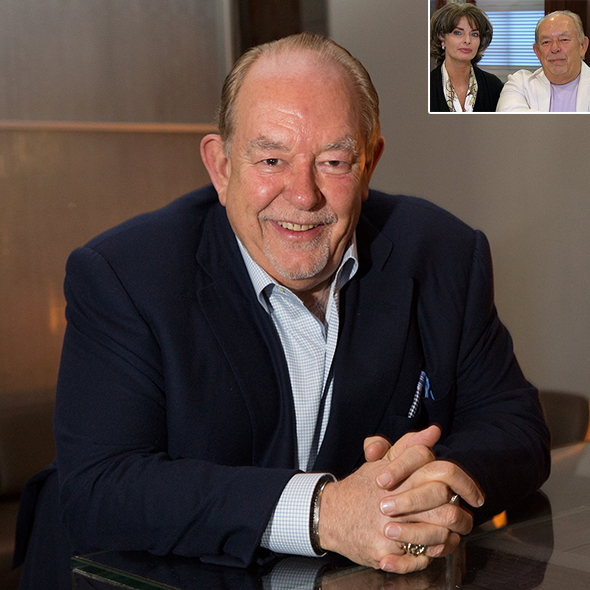 For A Week Robin Leach Swapped His Longtime Wife But Is Rumored As Gay Despite Having Children