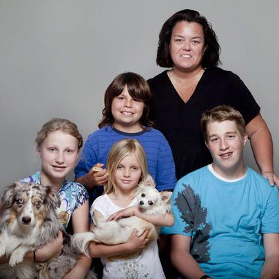 Rosie O'Donnell's Delightful Beach Vacation with Children: Excitement After Divorce and Sole Custody of Kid
