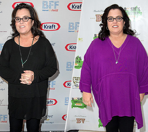"""""""The Rosie Show"""" host Rosie O'Donnell: Reason Behind Weight Loss"""