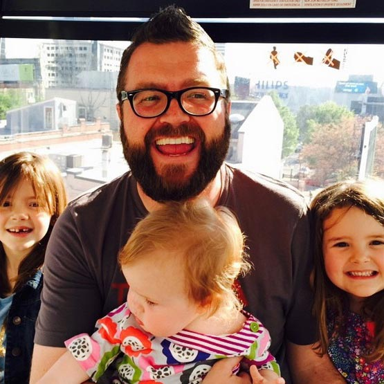 Loving Husband and Caring Father of 3 Daughters, NBC's Auto-Racing Analyst Rutledge Wood Family Life