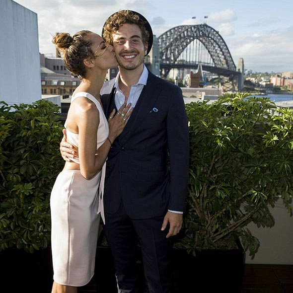 Ryan Corr, So Much in Love With Dancer Girlfriend: Beach Holidays Dating