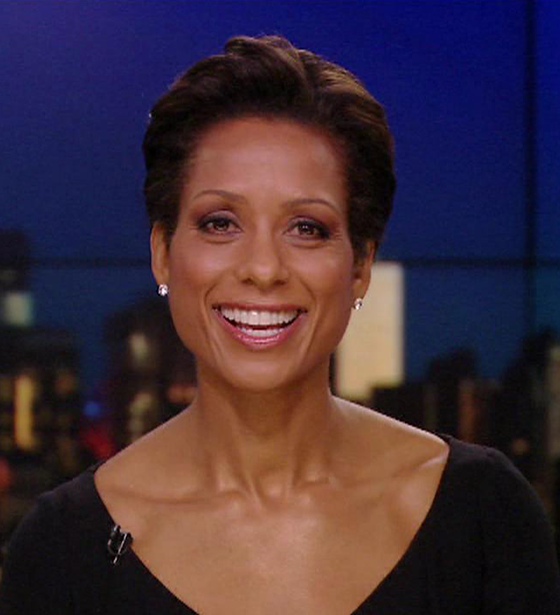 WABC's Sade Baderinwa: Love For The Children. 47 in Age But Not Married And Husband? Affair Rumors?