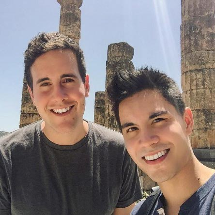 Sam Tsui Married Surprisingly With Boyfriend Casey Breves: Gay Couple's Honeymoon in Greece