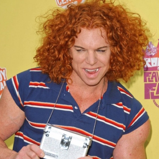 Scott Thompson Carrot Top Top And Steroid Abuse On Plastic Surgery