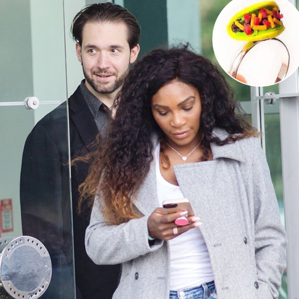 One Up for Love! Tennis Player Serena Williams is Engaged to her Boyfriend Alexis Ohanian! Get a Glimpse of her Engagement Ring