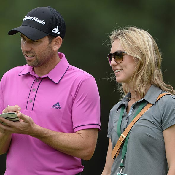 Unlucky Golfer Sergio Garcia Triumphs Championship After Engagement, Caddy Girlfriend Helps While Dating