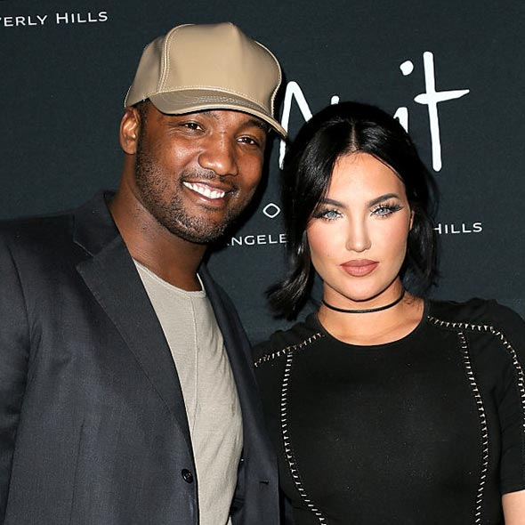 Who is natalie dating from la wags