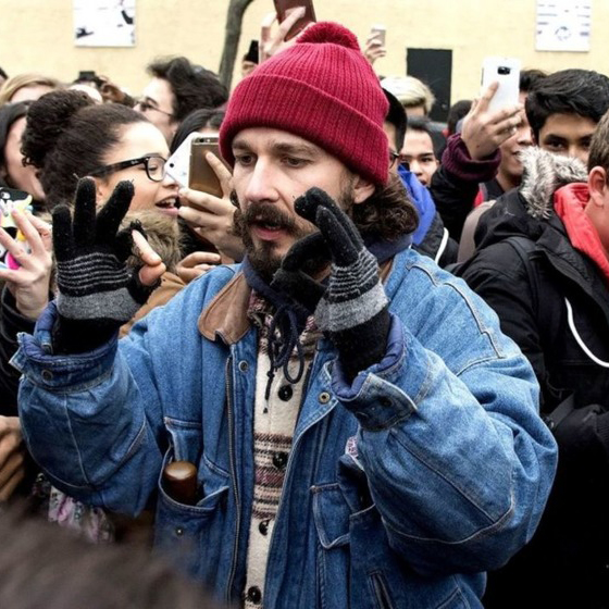 Actor Shia LaBeouf Arrested in New York While Attending Anti-Trump Art Show