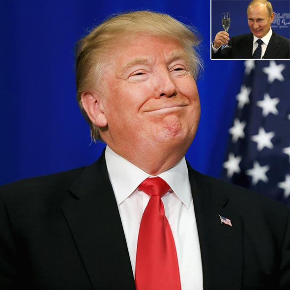 Showers of Congratulations for Donald Trump! Russian President Putin Congratulates Donald Trump for his Outstanding Victory