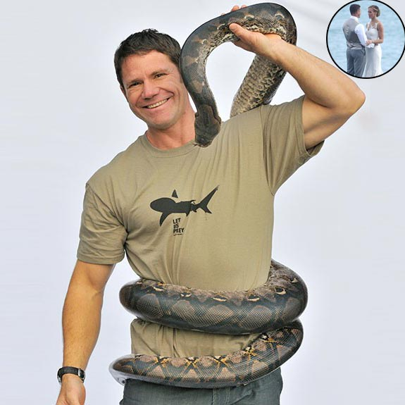 Naturalist Steve Backshall Is Now Officially Married! Wedding Details