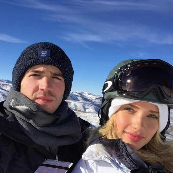 Relationship Goals: Steven R. McQueen Posts Heart Warming Pictures With Model Girlfriend While Crushing Strong Gay Rumors