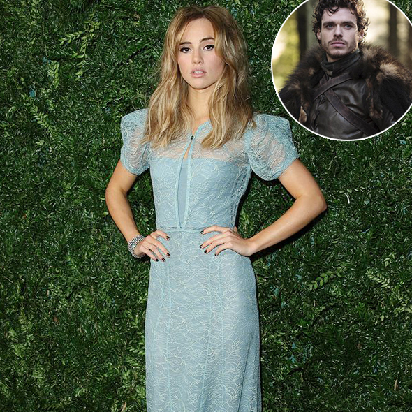 You can't hide Love! Beautiful Actress Suki Waterhouse is Supposedly Dating GOT's Star Richard Madden!