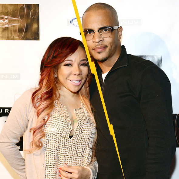 """Exclusive! Tameka Cottle""""Tiny"""" Files Divorce Against her Husband T.I"""