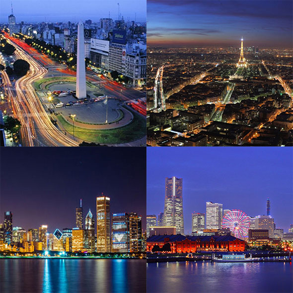 Top Five World Amazing  Night Lifestyle  Cities