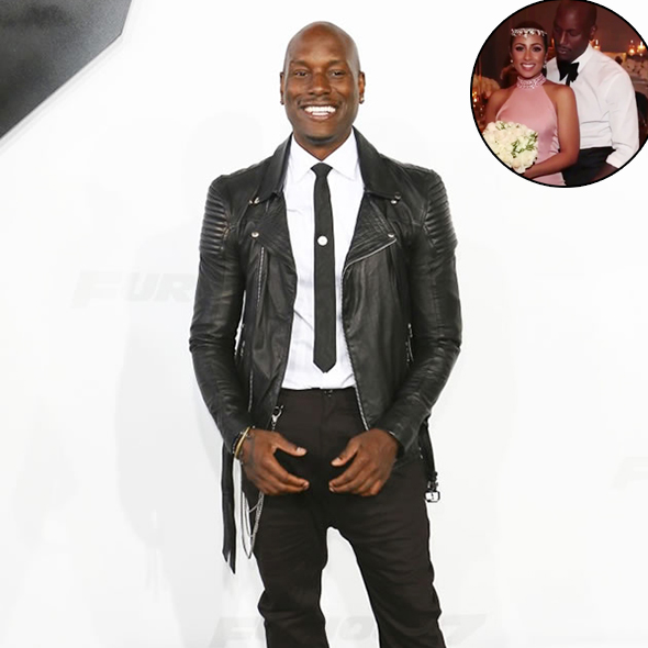 Surprise Surprise! Singer Tyrese Gibson Revealed He Secretly Married His Girlfriend on the Valentine's Day