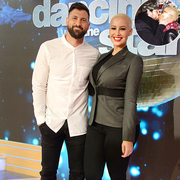 No Time for Haters! Val Chmerkovskiy Smacks Down Online Trolls against Romance with his Girlfriend Amber Rose