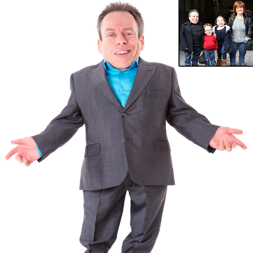 Actor Warwick Davis Talks About His Wife And Family Issues Regarding Height And Children!