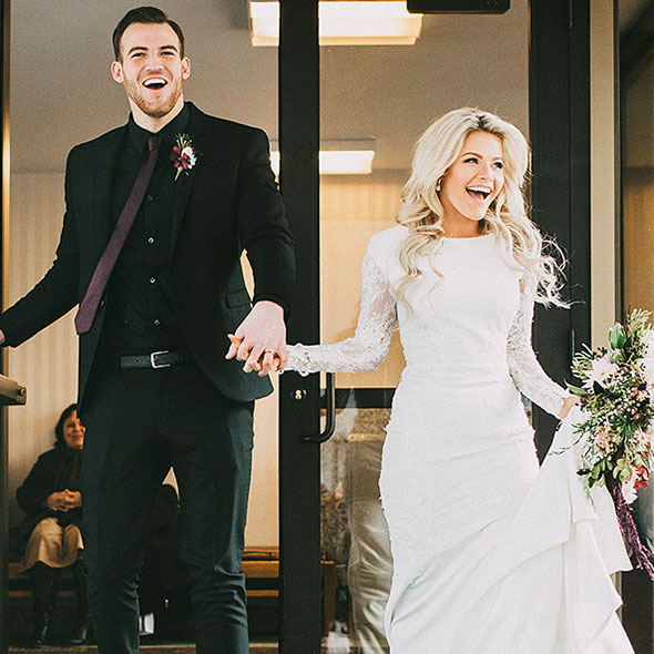 Whitney Carson Wedding Hair Style: Beautiful Dancer Witney Carson's Exotic Wedding With Her