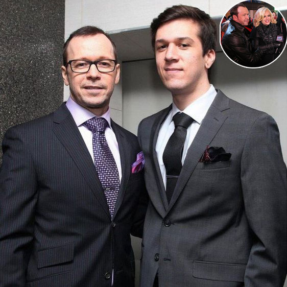 Donnie Wahlberg, Father of Xavier Alexander Wahlberg, Happy with the ...