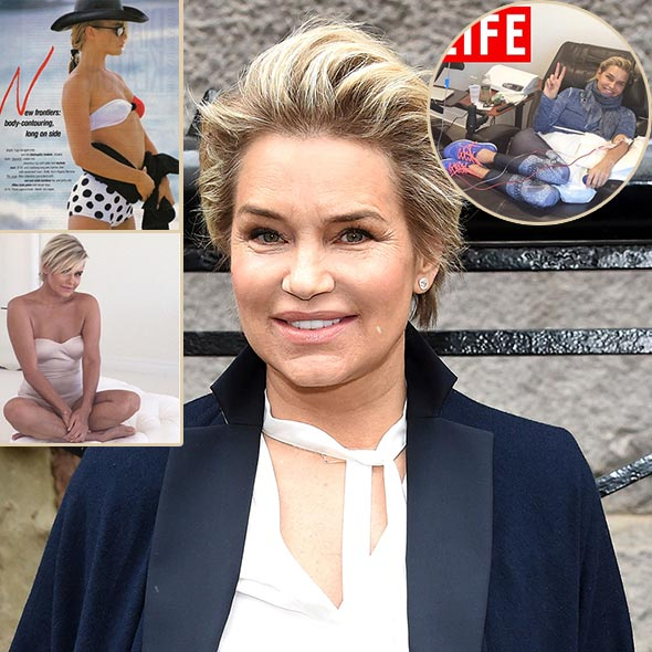 Yolanda Hadid, Back to Her Passion: Returns to Modeling Despite of Her Sickness
