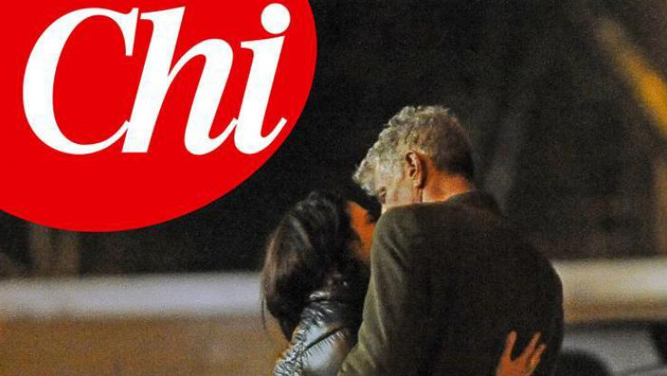 nthony Bourdain kissing his new girlfriend