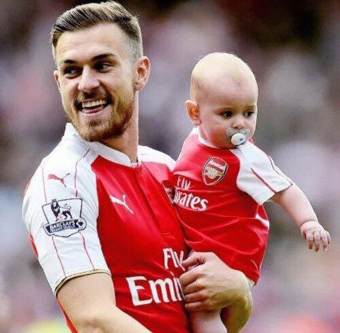 Aaron Ramsey Taking A Break From Field Because Of Injury; Has A Blessed Family Life With Wife And Baby