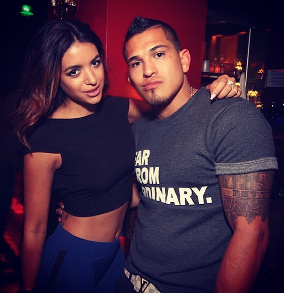 Anthony Pettis in a Perfect Dating Affair! Only Love Between Him and Girlfriend