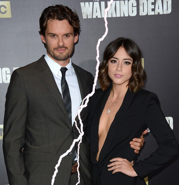 Shattered Hearts! The Walking Dead's Austin Nichols Split with Chloe Bennet After Four Years of Dating