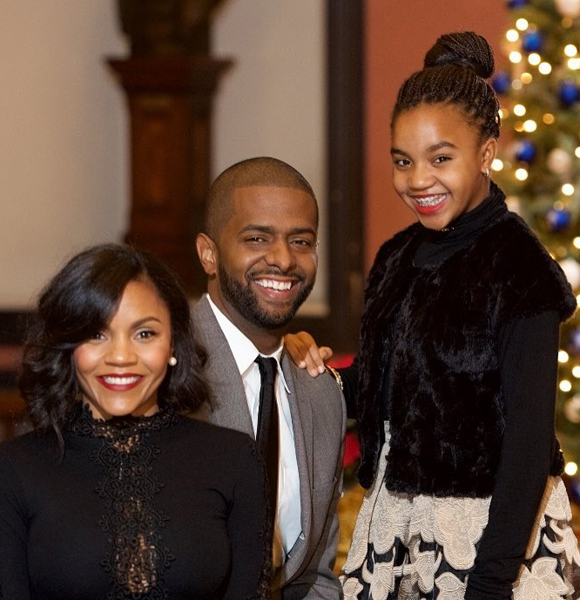 CNN Analyst Bakari Sellers Thinks Wife's Daughter As His Own! The Family Gestures Will Melt Your Heart