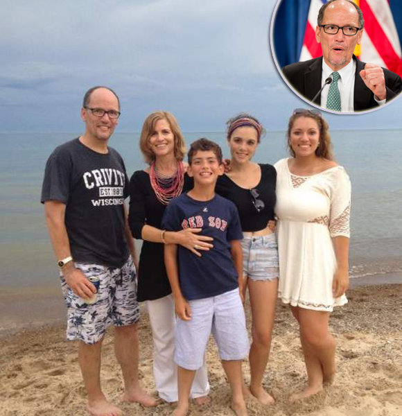 Tom Perez While Maintaining Healthy Family Life With Wife, Children; Threatens President After Switching From Labor To DNC